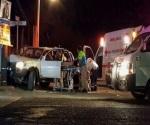 Balacera y persecución en La Paz; hay un muerto y 2 heridos