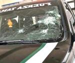 Policía herido en ataque