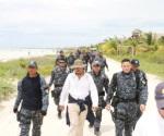Van autoridades contra la tala de manglar en isla de Holbox