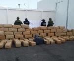 Asegura PGJ una tonelada de mariguana en El Mante