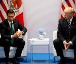 Se reúnen Peña Nieto y Trump en su primer encuentro como jefes de Estado