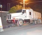 Detectan federales camión robado