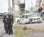 Logran escape sujetos armados tras balacera