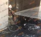 Se incendia casa en la Módulo 2000