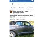 Reportan en redes robo de vehículos