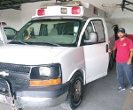 Destinan ambulancia para la zona rural aledaña a brecha 109
