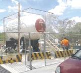 Revisan instalaciones a distribuidora de gas