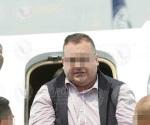 Llega a México el exgobernador de Veracruz
