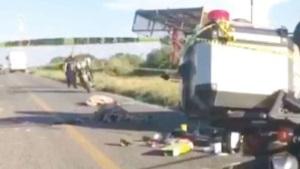 Choque: 3 muertos, tres heridos graves