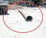 Polémica por diametro de tubería sanitaria