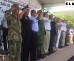 Destruyen armamento asegurado en Octava Zona Militar