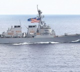 Destructor  de EU choca con buque