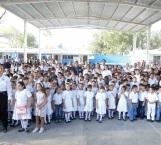 Inaugura Maki Ortiz ciclo escolar 2017-2018