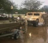 'Harvey' toca tierra en Luisiana
