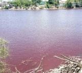 Alertan por agua de laguna contaminada