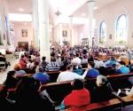 Realizan misas de barrio