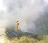 Alerta por incendio moviliza a bomberos