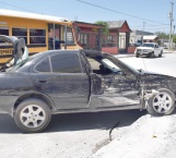 Tres lesionados en accidente vial