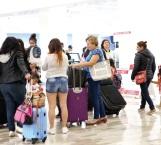 Afecta sismo a 180 vuelos