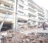 En riesgo de colapso edificio de Lindavista