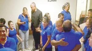 Trabajadores del ISSSTE tienen nuevo delegado