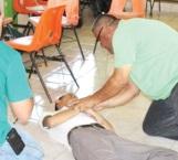 Realiza pc simulacro de incendio en Cobat 11