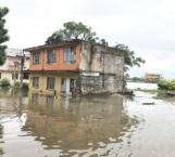 Inundaciones en Tampico por desborde del Pánuco