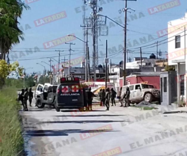 Reportan dos abatidos y un detenido esta mañana en Reynosa