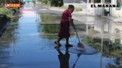 Vecinos de Las Cumbres piden solución a fuga