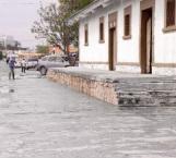 Limpian vieja estación por las catrinas