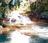 Deja sismo sequía en cascadas Agua Azul