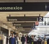 Cancelan al menos 59 vuelos en México