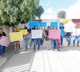 Protestan por incontenibles robos a jardín