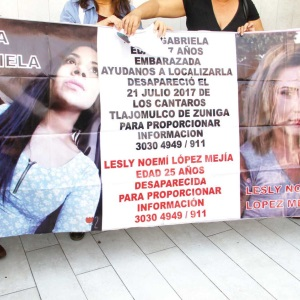 Ven inacción madres de 3 desaparecidos