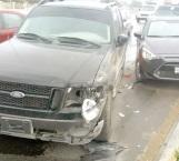 Por conducir sin precaución da alcance y causa daños