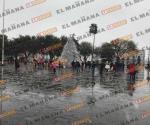 Tamaulipas se pinta de blanco
