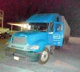 Traía oculta camioneta