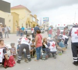 Muy activa se vio la Cruz Roja Reynosa