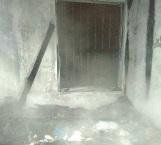 Arde vivienda abandonada en zona centro