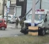 Choca ambulancia de la Semar; 4 heridos