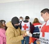 Calienta Cruz Roja tripas de familiares de enfermos
