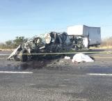 Tragedia en la carretera mueren tres