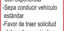 CONSTRUCTORA, SOLICITA EL