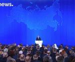 Putin revela nuevo armamento nuclear en el discurso sobre el Estado de la Nación