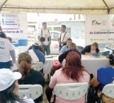Llevan corredor de salud a las diversas colonias de Reynosa