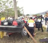 Brutal accidente; muere estudiante