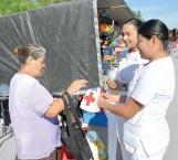Continúan campaña de boteo para apoyo a la Cruz Roja