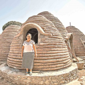 Construyen casa antisísmica