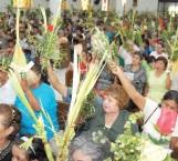 Todo listo para conmemorar el Domingo de Ramos este fin