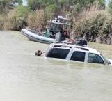 'Hunden' droga en el río Bravo